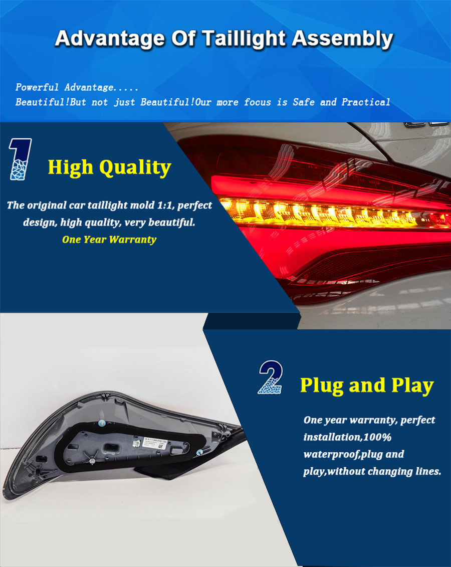 FLASH SALE] Car Styling LED Tail Lamp for Mercedes Benz CLA