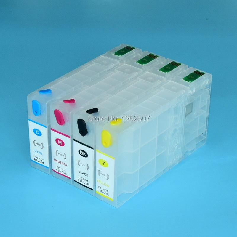 L'europe 79XL T7901 7901 T79XL Rechargeable cartouche d'encre Pour Epson WF-5690 WF 5690 5190 5620 5110 4640 Imprimante Avec ARC puce