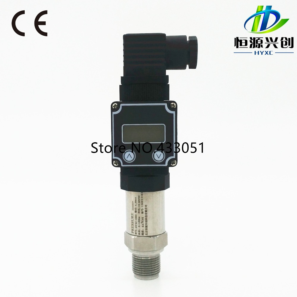 Pressure transmitter Display type pressure sensor Industrial specialized pressure transmitter
