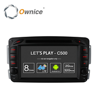 4G SIM LTE Android 6 0 Quad Core 7 Car DVD Player GPS For Mercedes W209