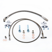 Kinugawa Turbo Oil and Water Line Kit for Garrett T2 T25 T28 Journal Bearing Turbo