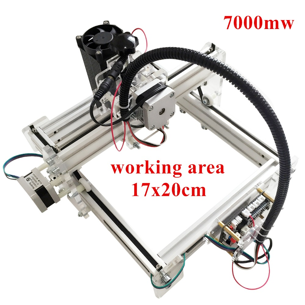 7000mw Laser engraving toy grade engrave on metal DIY desktop micro laser engraving machine engraving machine 170*200mm marking7000mw Laser engraving toy grade engrave on metal DIY desktop micro laser engraving machine engraving machine 170*200mm marking