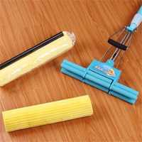 2pcs PVA Super Absorbent Household Sponge Mop Head Refill Replacement Useful Home Floor Kitchen Easy Cleaning Tool