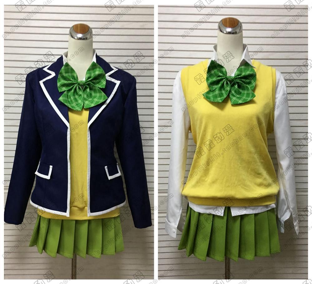 5 Go-toubun no Hanayome Nakano Yotsuba Cosplay costume Robe Robe De Costume Outfit