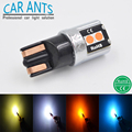 LED Car T10 T15 W16W W5W 168 175 194 501 Auto Light lamp 12V 24V 6W 200LM Amber Blue White Yellow Red CANBUS Lighting Bulbs
