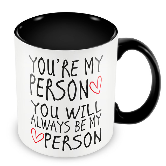 17d86b1bf12 US $11.9 |You're My Person mug cups coffee Mug tea cups Greys Anatomy mugs  Grey's Anatomy Gift Christina Yang-in Mugs from Home & Garden on ...