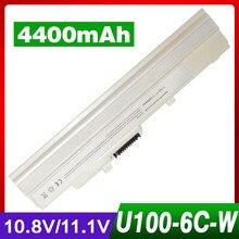 4400mAh laptop battery for MSI Wind U210-006US U230 U100 U90 U200 U210 for