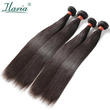 "ILARIA HAIR Mink 8A Brazilian Virgin Hair Straight 4 Bundles 08""-36"" 100% Unprocessed Human Hair Weave Full Bundle Free Shipping(China)"