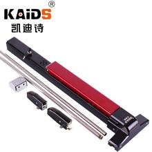 цена на KAIDS Iron Paint Exit Device Door Fire Escape Doors Lock Push Bar Exit Lock with Alarm Function