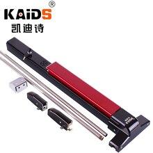 KAIDS dispositivo de salida de pintura de hierro, cerradura para puertas de Escape de incendios, barra de empuje, cerradura de salida con función de alarma