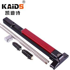 Image 1 - KAIDS dispositivo de salida de pintura de hierro, cerradura para puertas de Escape de incendios, barra de empuje, cerradura de salida con función de alarma