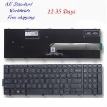 US laptop tastatur Für DELL INSPIRON 15R 3542 15MR 1528 N5547 N5545 5545 Schwarz Neue Englisch