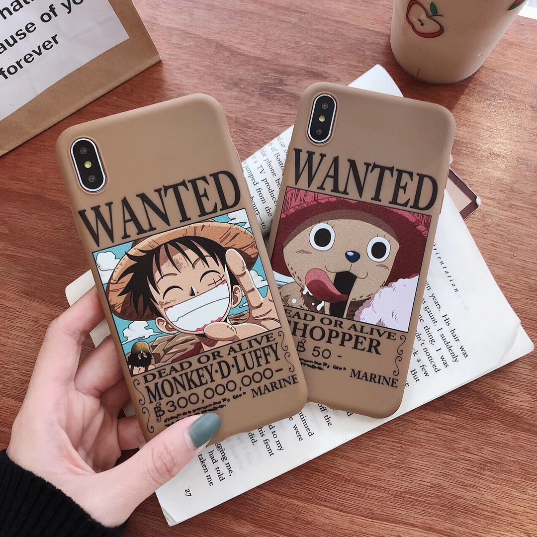 Dead or Alive Luffy Wanted Phone Case https://www.sureshopify.store/
