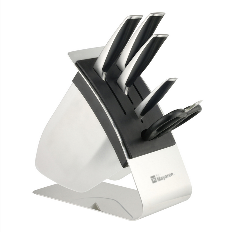 Fashion Kitchen Knife Block Creative Knife Holder Stand Cutting Knives  Storage Plastic Knife Rack Holder Kitchen