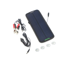 18V 7.5W Sunpower Solar Charger Solar Panel Battery Maintainer Charging for Car Automobile Motorcycle Tractor Boat Battery