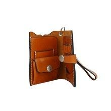 Кожаный чехол для дротиков Dart Wallet черный/коричневый