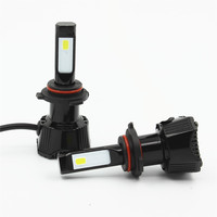 HoldCY 2 X LED Car Headlight 9005 9006 Auto Headlamp Bulb 76W 7600LM 6500K COB Chip