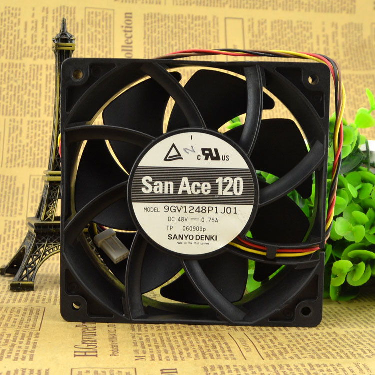 Free Delivery. 120 9 gv1248p1j01 fan 48 v 0.75 A server. free delivery original authentic 120 120 38mm 200v 14 12w cn60b3 fan