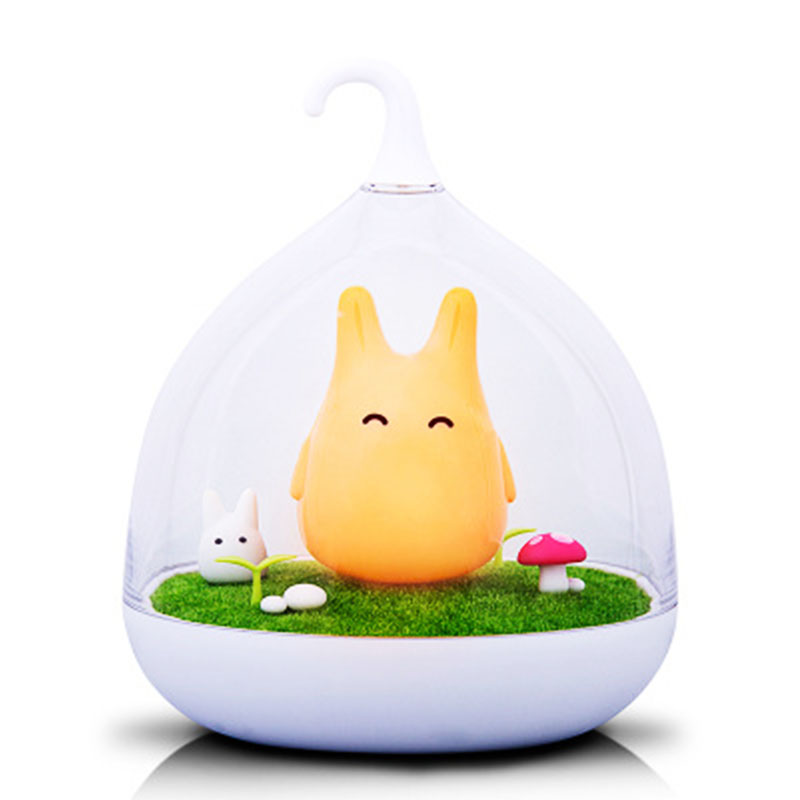 Luzes da Noite estilo o totoro usb portátil Lights Indoor : Cute Lamp