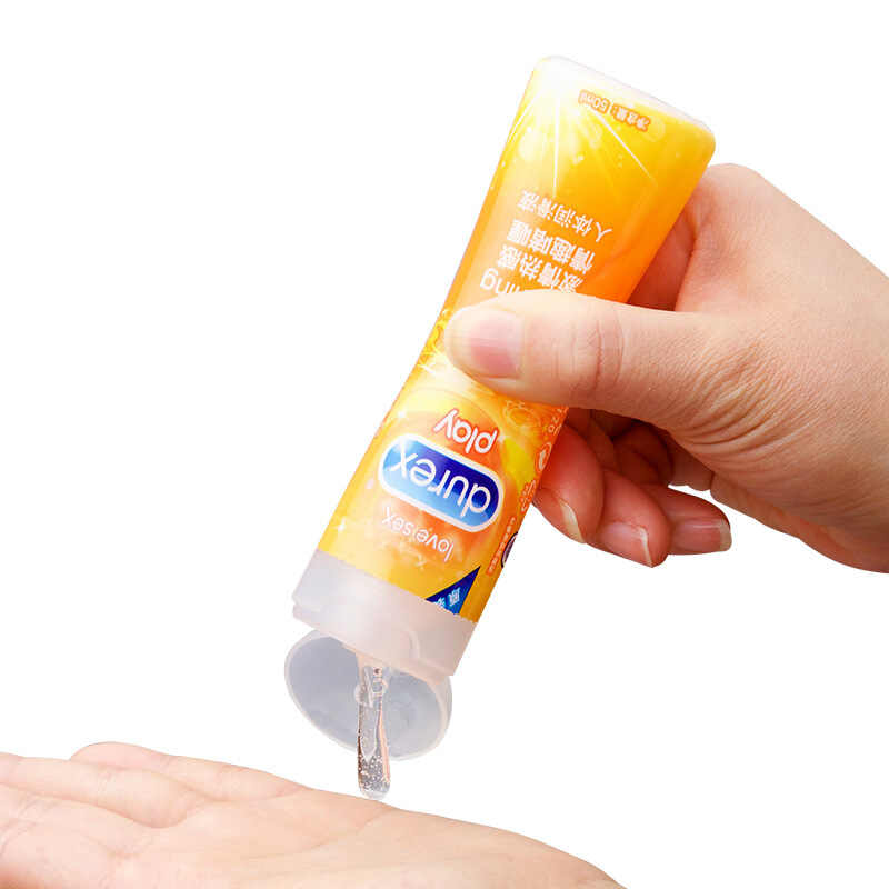 Durexน้ำมันหล่อลื่น 2 Pcs ICEและFireน้ำหล่อลื่นAnalอวัยวะเพศชายเจลนวดน้ำมันของเล่นSexual Partner Intimateผลิตภัณฑ์