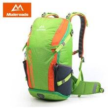 New! Maleroads Trekking Rucksack Women's and Men's Backpack Waterproof Nylon Backpack Hiking Bags Camping Riding Backpack 40L