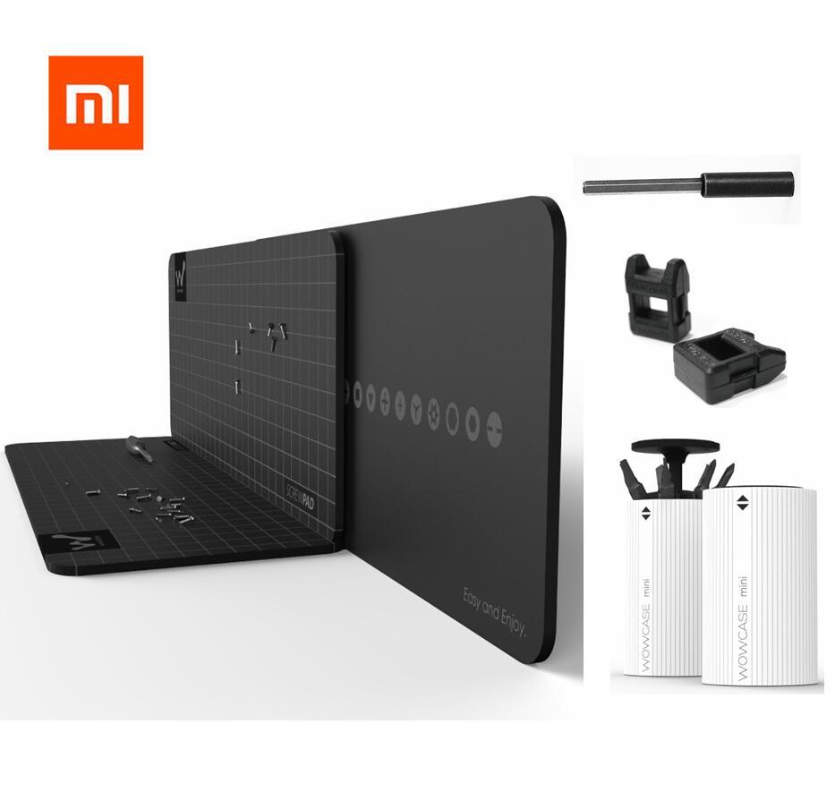 Xiaomi Mijia Wowstick Wowpad Magnetic Screw Postion Memory Plate Mat 1P+1F+ 1FS Electric Screw-driver Kits Xiaomi Smart Home Kit