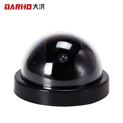 DARHO indoor/outdoor Wireless Home Security Fake Camera Simulated video Surveillance Dummy Ir Led Fake Dome camera fake dummy security camera cctv surveillance system with realistic simulated leds outdoor indoor for home cam warning sticker