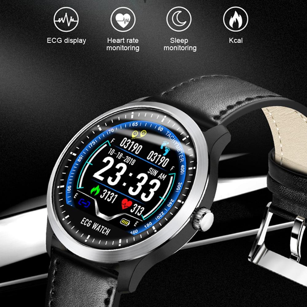 Teamyo N58 ECG PPG Smart Bracelet Heart Rate Blood Pressure Monitor