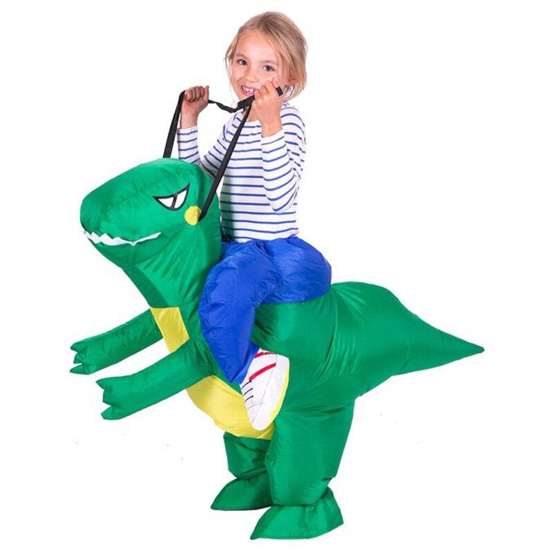 Kết quả hình ảnh cho Riding Dinosaur Costume, Halloween Carnival Costumes