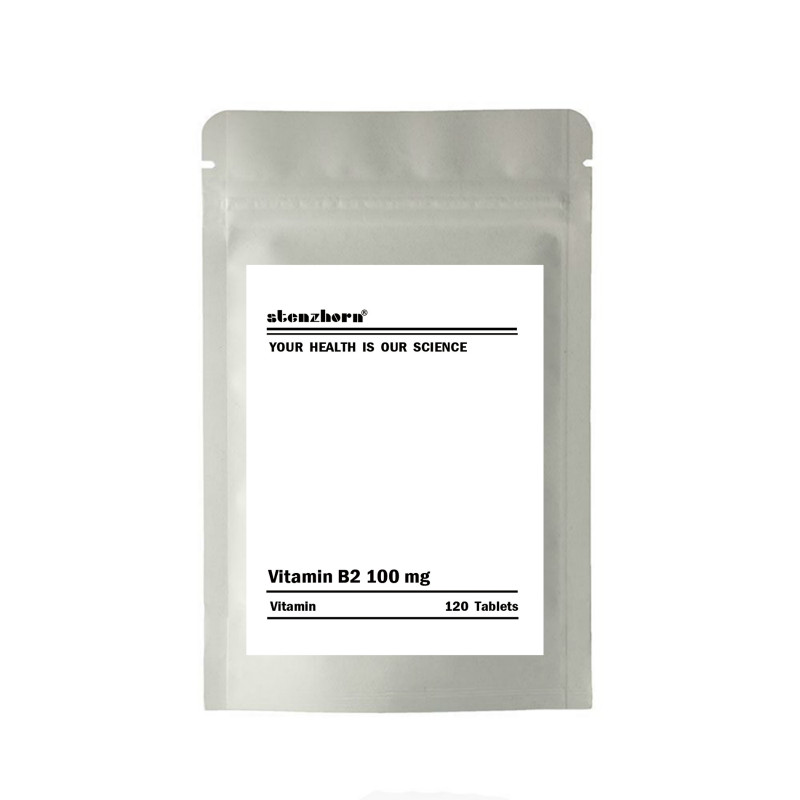 Multifunctional Supplement Vitamin B2 100mg 120 Units 100mg Quality Assurance