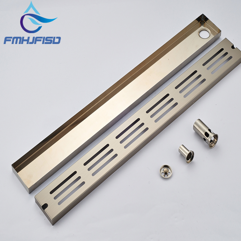 Wholesale And Retail Luxury Brushed Nickel Floor Drain Square Stainless Steel Shower Floor Filler Grate Waste Drainer free shipping wholesale and reatil nickel brushed finished stainless steel floor drain