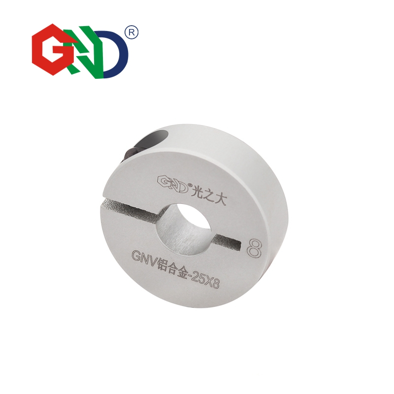 85 pieces GNV aluminum alloy clamping fixed collar series diameter 20 length 10mm85 pieces GNV aluminum alloy clamping fixed collar series diameter 20 length 10mm