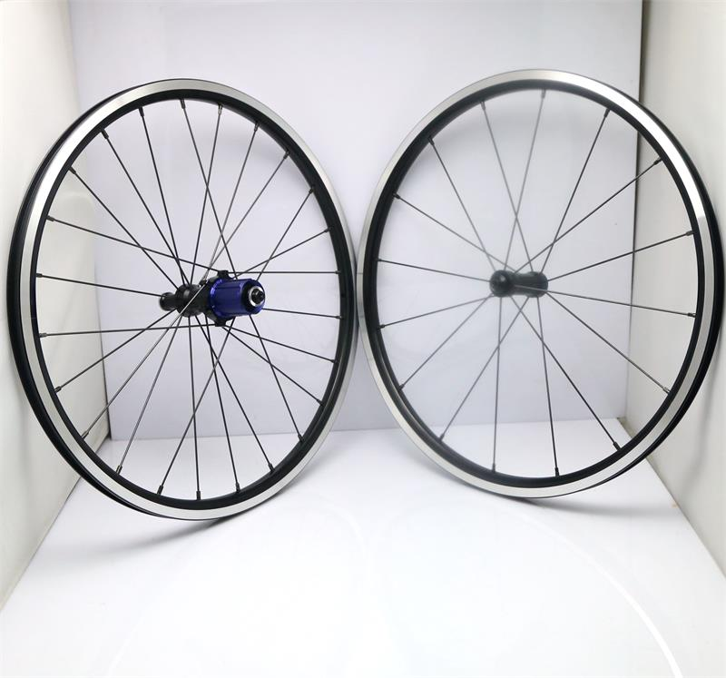 2016 NEW 20in 406 DATI straight pull hub kinlin nbr rim FOLDING BIKE Wheelset Wheels 9