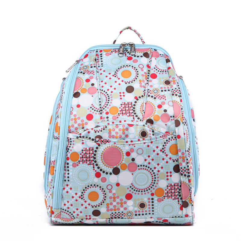 New Waterproof Baby Diaper Bag Cute Baby Nappy Bag Backpack Ptinted Maternity Bags Baby Care Changing Bag for Stroller