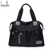 LAZYLIFE Women's Messenger Bag Ladies Nylon Handbag Women's Handbag Travel Bag Lady Casual Original Bag Female Crossbody Bag