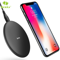 Benks Universal Wireless Charging Pad QI Charger For Samsung Galaxy S8 Plus iPhone 7 Fast Charging Pad Charger