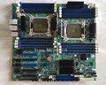 Материнская плата для сервера S2600CP X79 2011  материнская плата полностью проверена