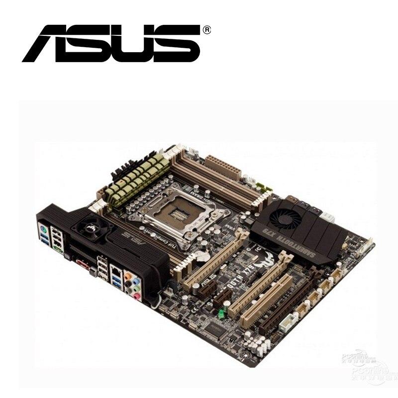 Asus SABERTOOTH X79 настольная материнская плата X79 Socket LGA 2011 Core i7 DDR3 64G ATX UEFI BIOS оригинальная подержанная материнская плата на продажу
