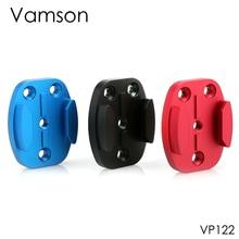 Vamson Accsessories для GoPro Hero 6 5 4 3 плоское крепление CNC Алюминиевый адаптер база поверхность доски для серфинга 4 отверстия для SJCAM VP122