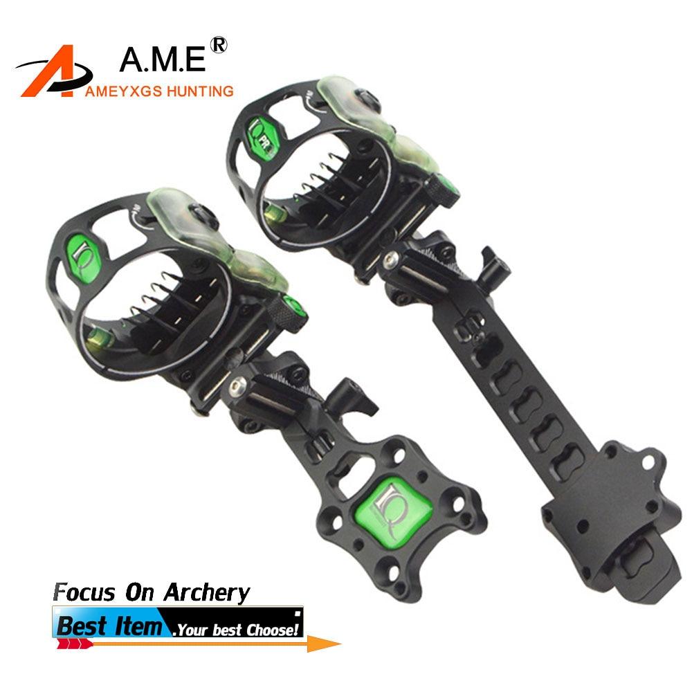 Iq Miras Bowsight 5 Pins Archery Compound Bow Sights Laser