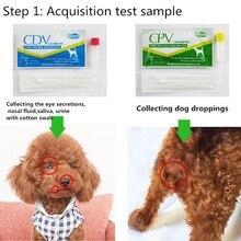 Хот Клык собака дистема вируса CDV/CPV домашний носовой тампон здоровья тест бумага MDD88