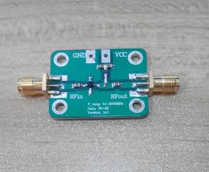 Image 1 - 0.1 2000MHz 2GHz Low Noise RF Broadband Sigal amplifier Module 30dB VHF LNA TV signal amplifiers