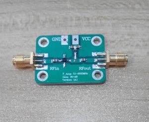 Image 1 - Модуль широкополосного Sigal усилителя с низким уровнем шума 0,1 2000 МГц, 2 ГГц, 30 дБ, VHF, LNA, усилители ТВ сигнала