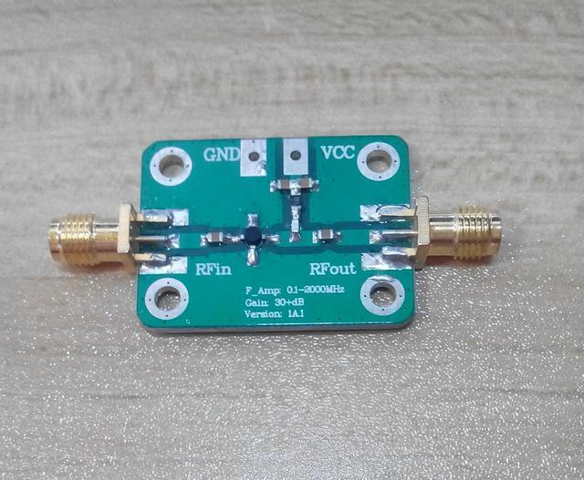 Модуль широкополосного Sigal усилителя с низким уровнем шума 0,1 2000 МГц, 2 ГГц, 30 дБ, VHF, LNA, усилители ТВ сигнала