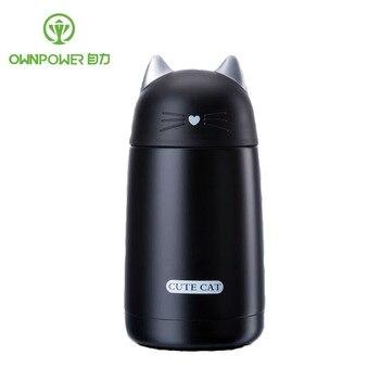 Mini Thermos Café ownpower 350 ml mini thermos café frasco botella de agua de la