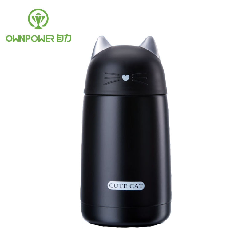 OWNPOWER 350ML Mini Thermos Coffee font b Vacuum b font Flask Stainless Steel Drink Water Bottle