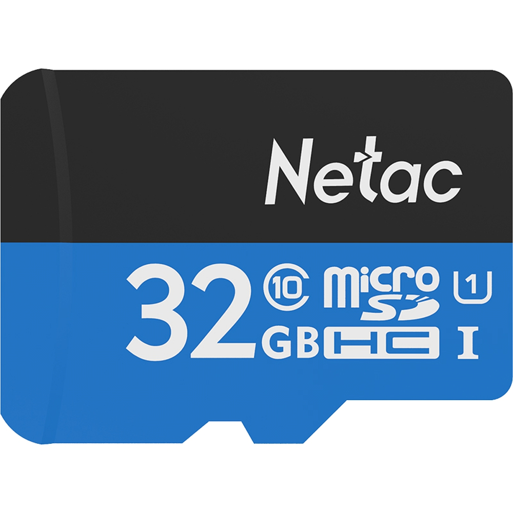 Original Netac P500 Class 10 32GB Micro SDHC TF Flash Memory Card 32G Data Storage UHS-1 High Speed Up to 70MB/s for car camera