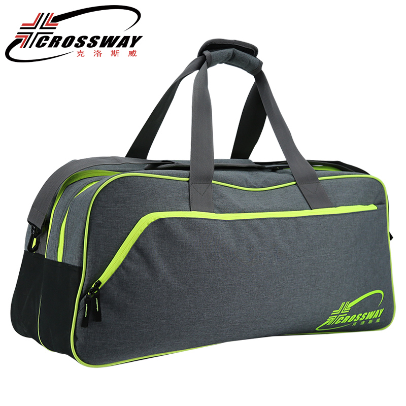 CROSSWAY handbag shoulder bag New ball bag badminton racket bags large capacity volleyball shoes basketball accessories 2205