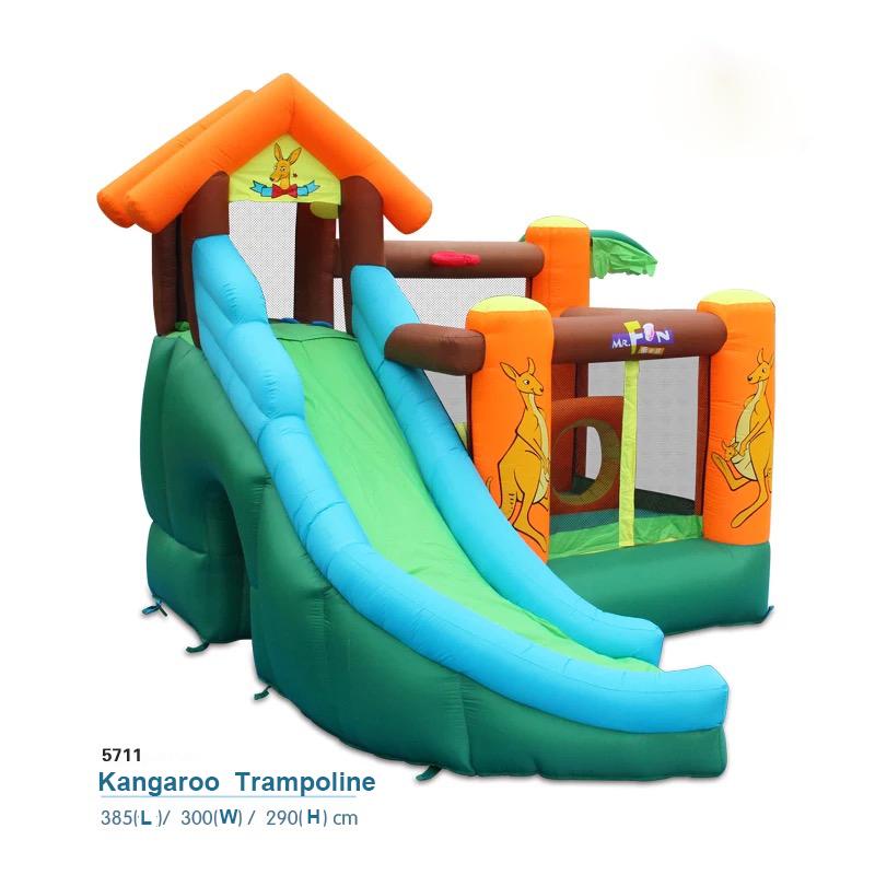 HTB1lWD5PFXXXXavXXXXq6xXFXXXU - Mr. Fun Kids Kangaroo Inflatable Bouncy Jump House Slide Combo with Blower