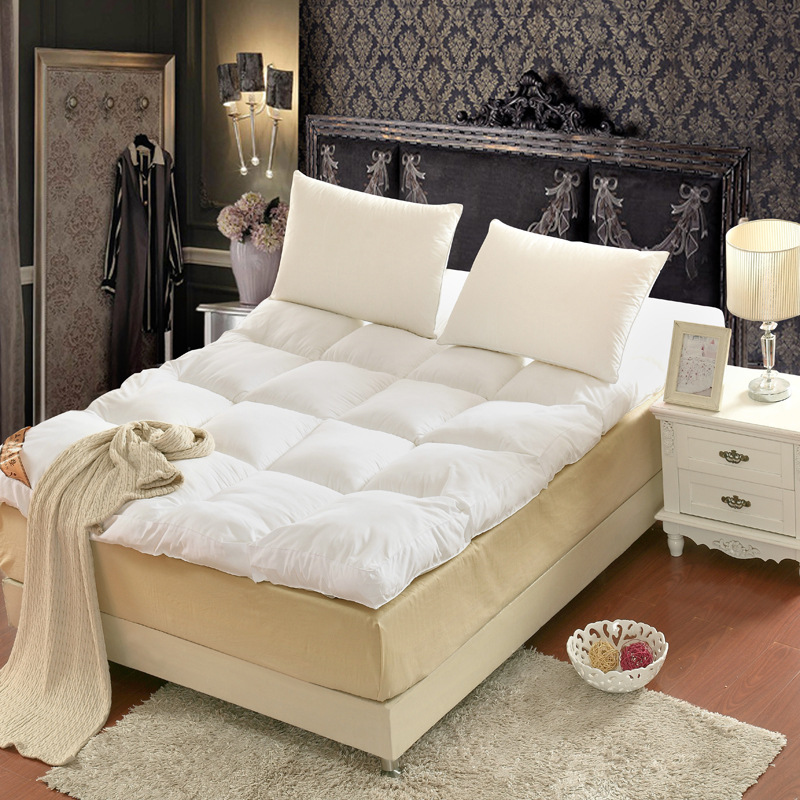 soft and comfort feather velvet mattress, bedding,single double Hotel mattress